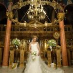 φωτογραφία γάμου - εκκλησία