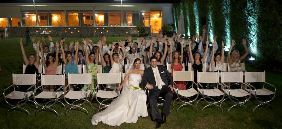 φωτογράφηση γάμου - γκρουπ καλεσμένων