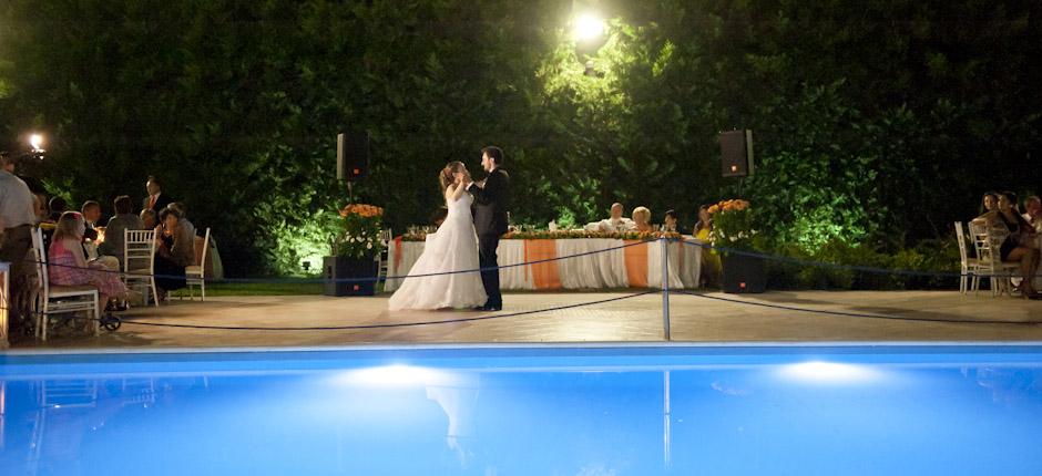 φωτογραφία γάμου - χορός του ζευγαριού