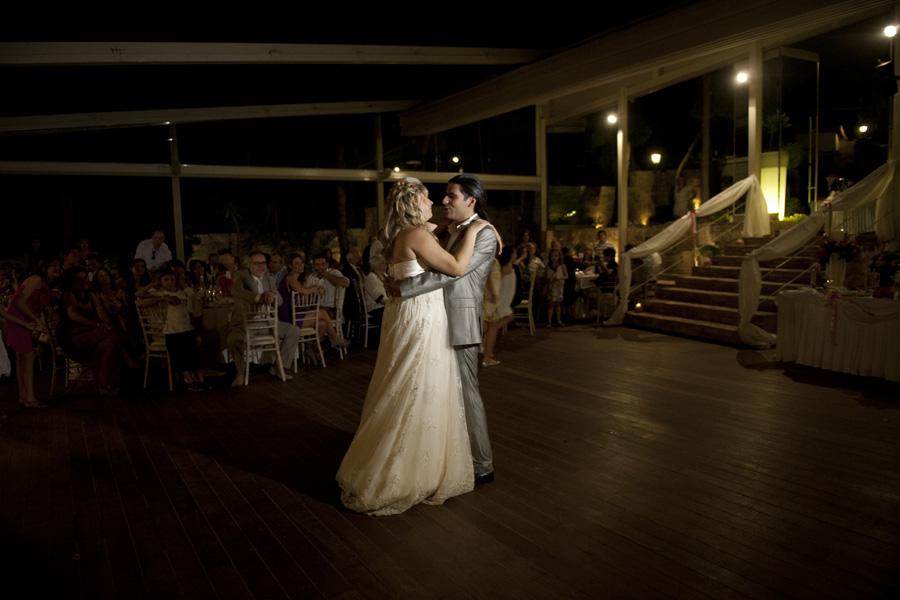 Φωτογραφία γάμου σε δεξίωση