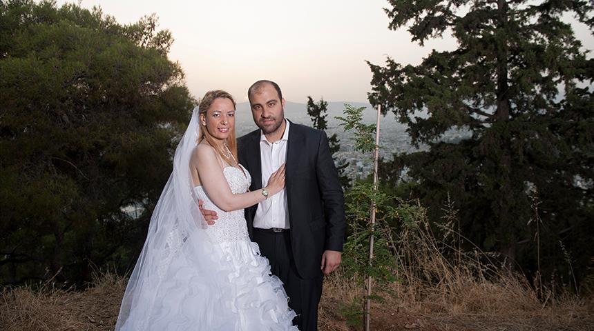 Φωτογράφηση Γάμου στο δάσος