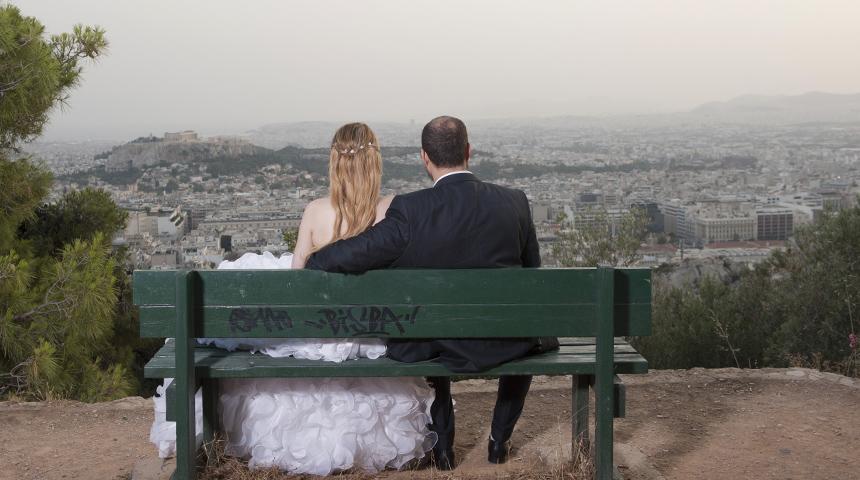 Φωτογράφηση γάμου Λυκαβηττός