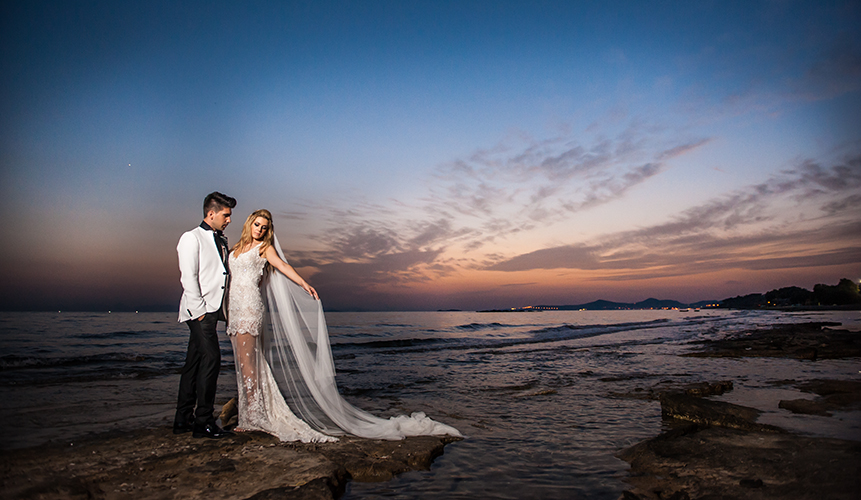 φωτογράφηση επόμενης ημέρας ηλιοβασίλεμα θάλασσα