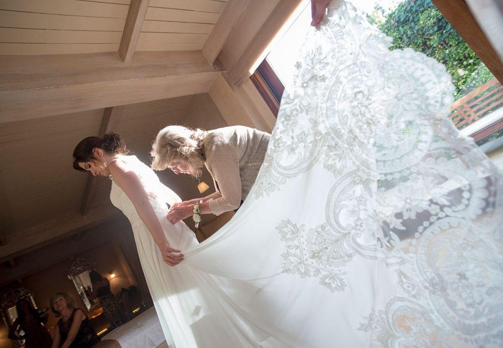 Φωτογράφηση προετοιμασίας νύφης